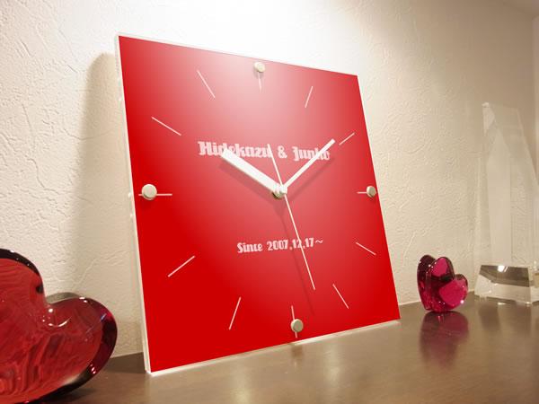 【カラフル ハウス】 時計