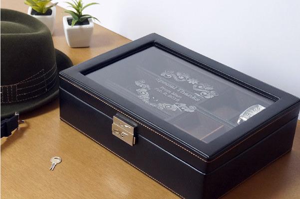 【アクセサリーボックス】メンズボックス Lサイズの写真